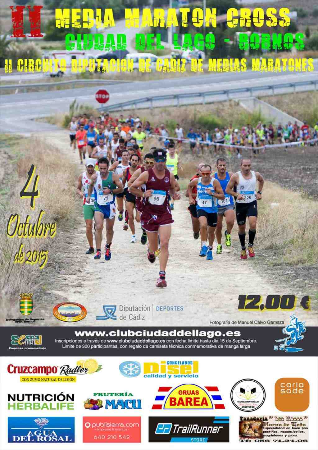 II Media Maratón Cross CIUDAD DEL LAGO