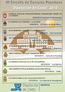 III Circuito Provincial Carreras Populares Diputacion Cadiz