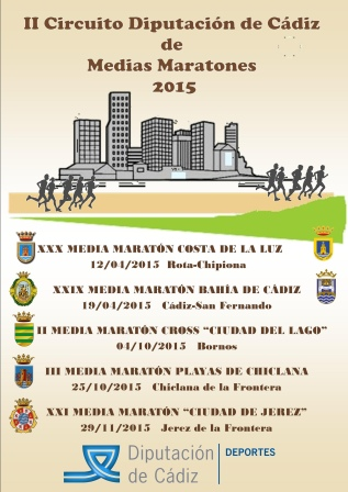 II Circuito Provincial Medias Maratones Diputacion Cadiz