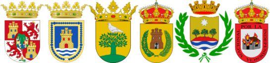 Escudos Carreras Populares Diputacion de Cadiz 2016